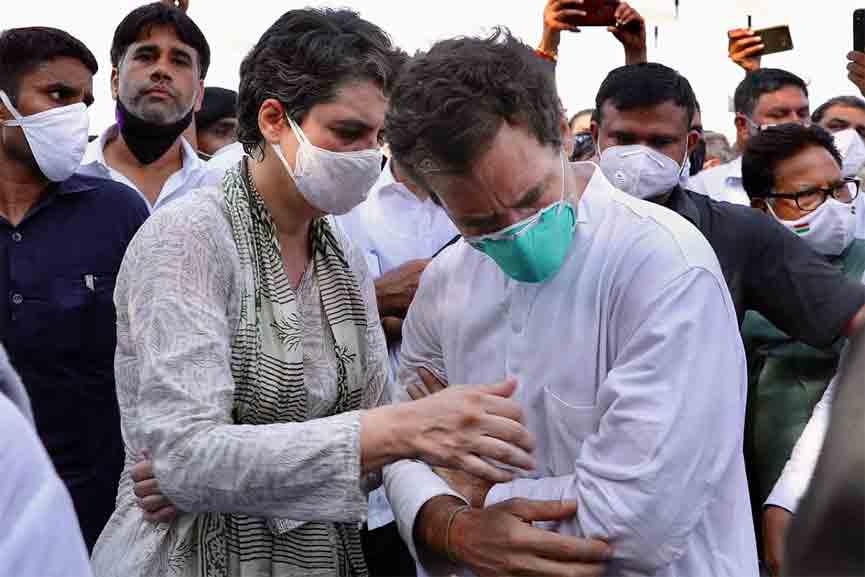 UP govt allows Rahul, Priyanka Gandhi to visit Lakhimpur Kheri