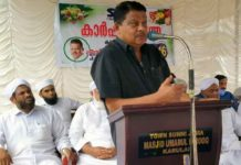 SYS intervention in Agriculture is exemplary; PV Abdul Wahab MP