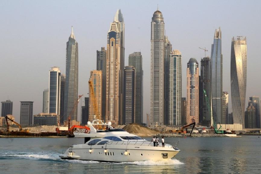 Temperature decreased in UAE