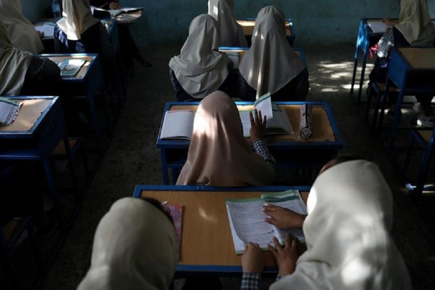 afghan-school reopens
