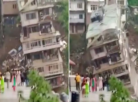 building collapsed in Shimla