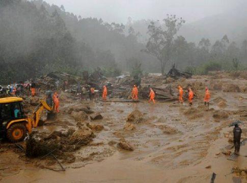 kerala rains-55 people died