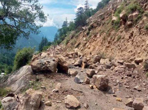 Landslide chance in kannur