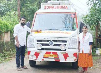 woman gives birth in kaniv 108 ambulance
